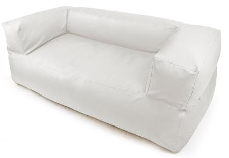 Pusku Pusku Sofa moog outside sittsäck - White