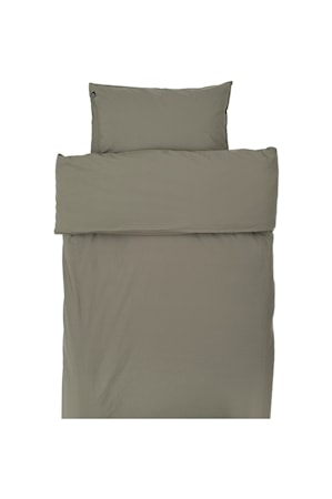 Hope Plain Påslakan 150x210 Khaki