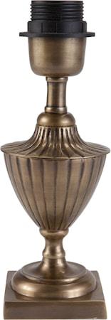 Bilde av PR Home Pollino Lampefot Antikk messing 24 cm