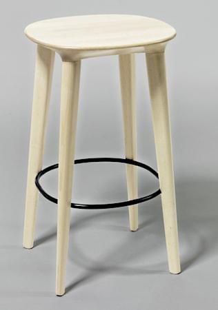 minus tio Audrey björk barstol - H65, klarlackad björk