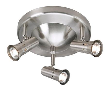 Bilde av Markslöjd Taurus Taklampe 3 Lys Stål
