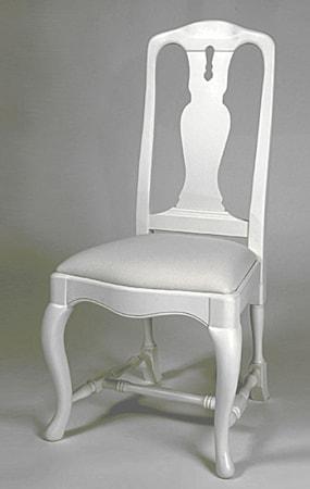 Kallholmen Dorotea karm stol - pärlgrå