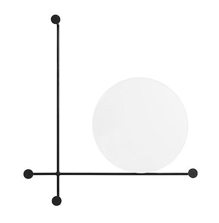 Nordal Spegel med Klädhängare Circles Small