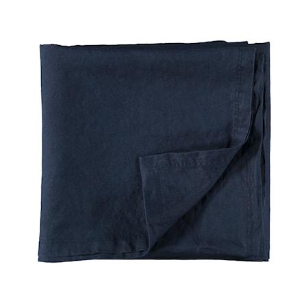 Gripsholm Pellavaliina 145x250 cm - Tummansininen