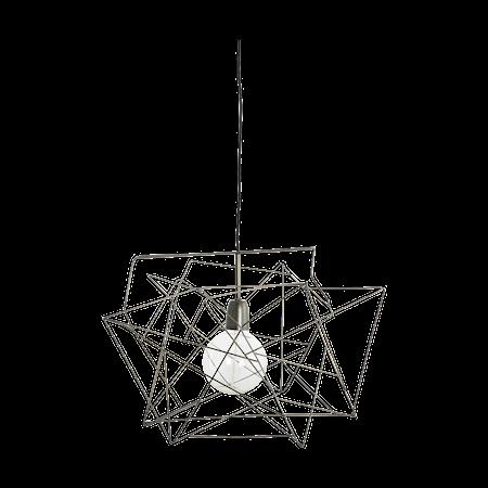 House Doctor Epäsymmetrinen lampunvarjostin, metalli 45x45 cm