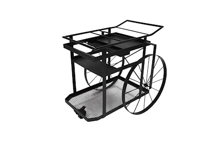 Scandinavian concept Big wheel trolley