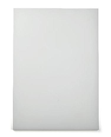 Skärbräda 49,5x 35cm, vit