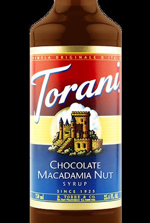 Torani Macadamia Syrup 750 ml -