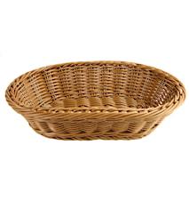 Brödkorg 29x18,5cm, brun