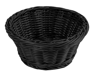 Brödkorg Ø 18,5 cm, svart