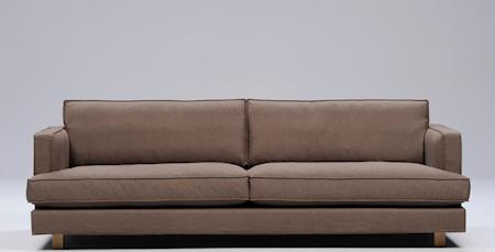 Interface Villa 3-sits soffa ? Träben Grå