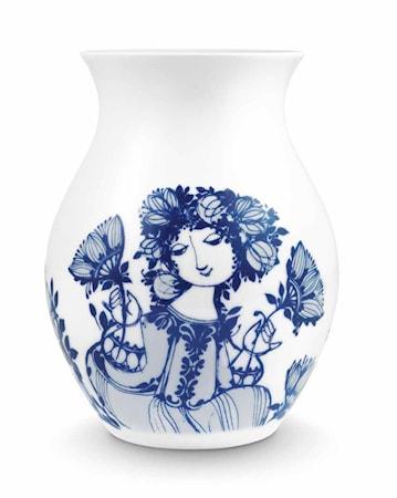 Bilde av Björn Wiinblad Vase, Amelia, blå, H 21 cm