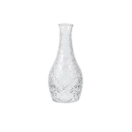 Bilde av Broste Copenhagen Vase Curve Klar Glass Ø 13 x H 29 cm