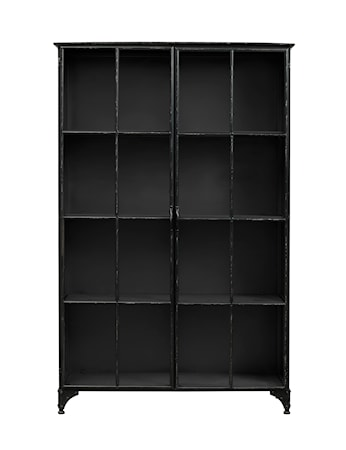 Nordal Downtown iron cabinett - Black