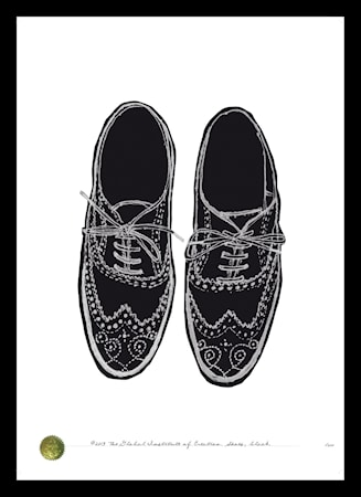 Bilde av TGIOC Shoes black poster