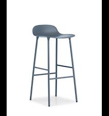 Form Barstol Blå 75 cm