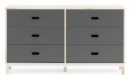 Normann Copenhagen Kabino 6 drawers byrå ? Grå