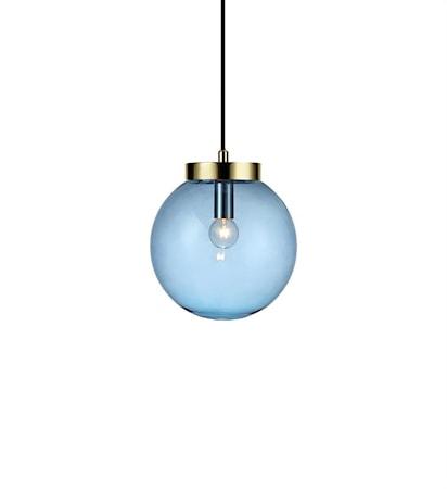 Markslöjd Ball Kattolamppu messinki/Blue