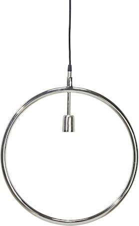 Bilde av Circle taklampe Krom 45 cm
