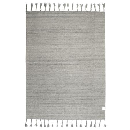 Plain Silver 200x300 cm