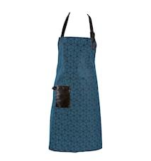 Förkläde Polyester/Bomull Petrol 80x64 cm