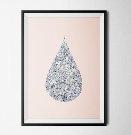 Bilde av Konstgaraget Marble poster