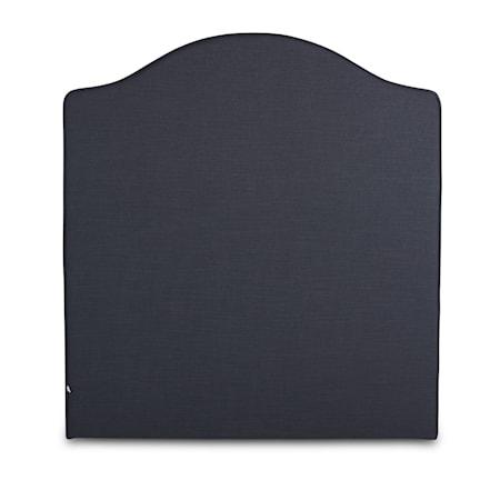 Mille Notti Carlita linne sänggavel - Mörkgrå 180x130