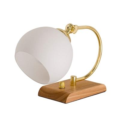 Bloomingville Bordslampa Glas/Gummiträ H25 cm
