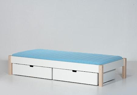 Manis-h Ull säng vit/bok - 90x160
