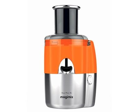 Magimix Duo Plus XL Tuoremehulinko oranssi/matta kromi