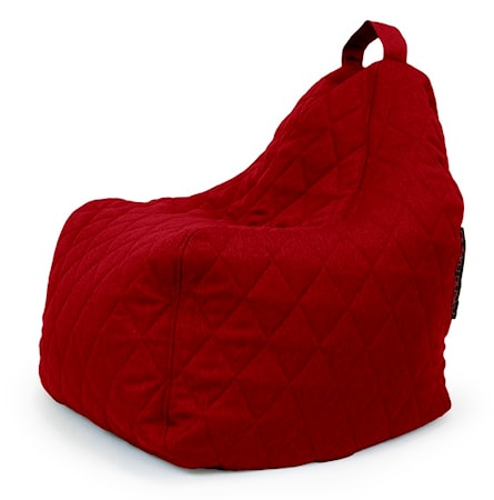 Pusku Pusku Play quilted nordic sittsäck - Red