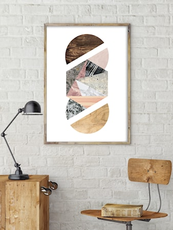 Bilde av Konstgaraget Geometry abstraction 2 poster