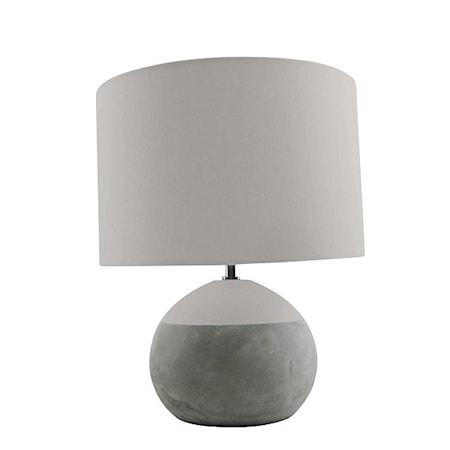 Silas Bordslampa Betong 35x28 cm
