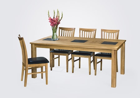 Arizona matbord + 6 st stolar