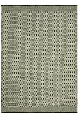 Mahi Matta Ull Off White/Grön 200x300 cm