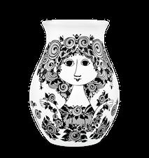 Vas, Rosalinde, svart, H 26 cm