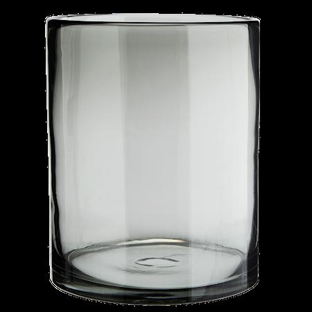 Glasvas Grå Cylinder