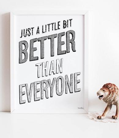 Bilde av Tove Lisa Better poster