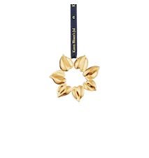 Solstjärna, 8 cm, förgyllt
