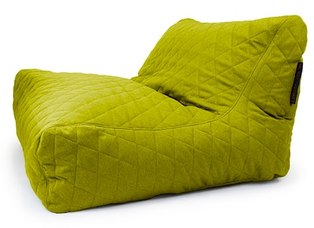 Pusku Pusku Sofa lounge quilted nordic sittsäck - Lime