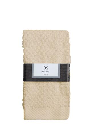 Galzone Håndklæde - 100% bomuld - 400 g - Sand - L 70,0cm - B 50,0cm - Sleeve - Stk. thumbnail