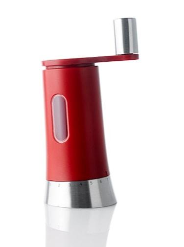 PEPISA - Manuell, keramisk salt-/ och pepparkvarn röd