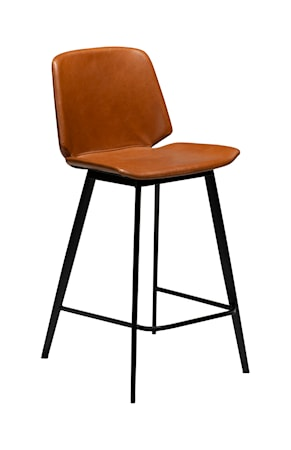 Dan Form Denmark Barstol Swing 94 cm - Vintage Ljusbrun