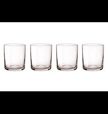 Simply glas 4 st - grå
