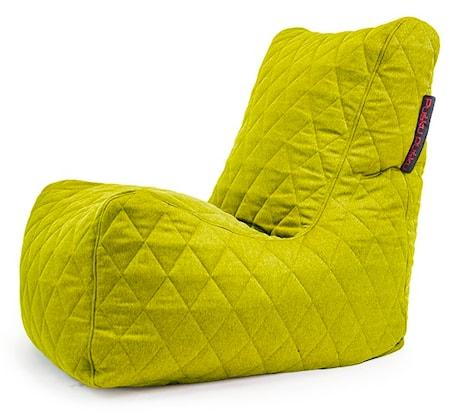 Pusku Pusku Seat quilted nordic sittsäck ? Lime