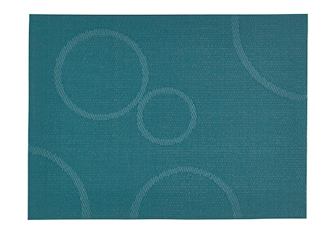 Zone Denmark Tablett Mörkgrön/Cirklar 40×30 cm