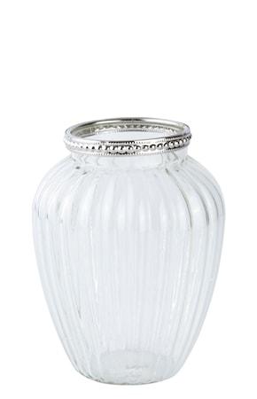 Bilde av KJ Collection Vase Sølv 10 cm