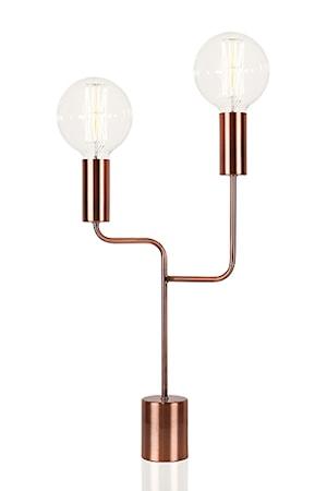 Bilde av Globen Lighting Bordlampe Bright Duo Antikkobber