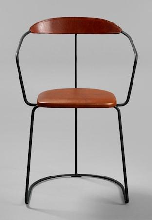 minus tio Ghost stol svart ? Läder
