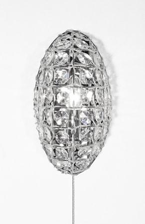 Bilde av Globen Lighting Vegglampe Ilona Klar